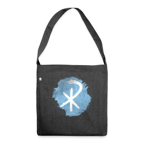 CHI RHO - Schultertasche aus Recycling-Material