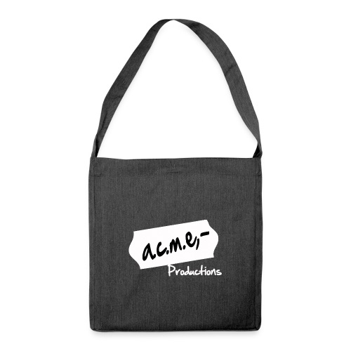 acmeproductionswhite - Schultertasche aus Recycling-Material