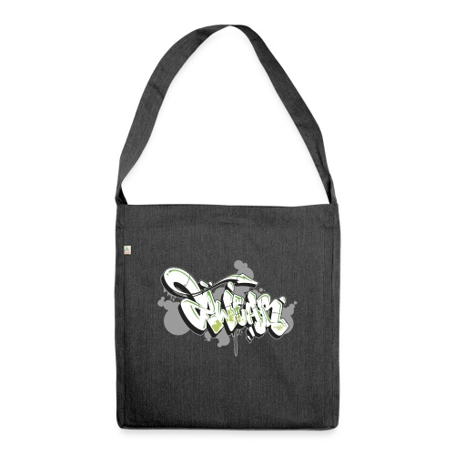 Graffiti Art 2wear Style - Skuldertaske af recycling-material