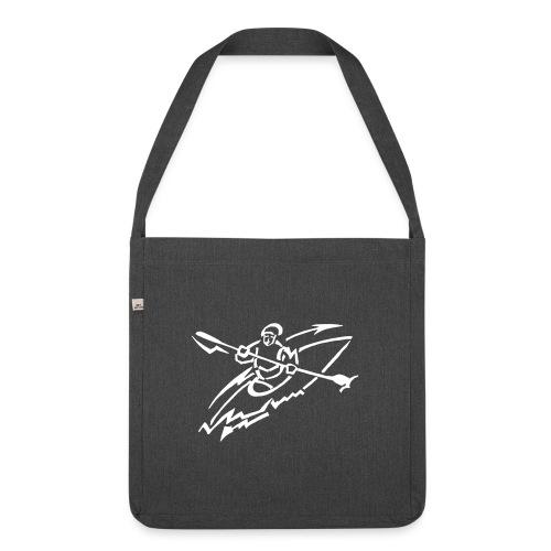 Kanu-AG-Logo - Schultertasche aus Recycling-Material
