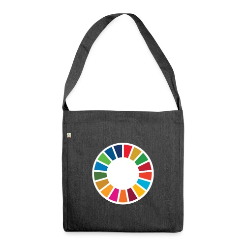 SDGS x SIGNALS OF HOPE No.2 - Schultertasche aus Recycling-Material