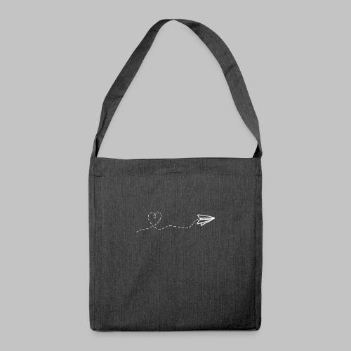 fly heart - Shoulder Bag made from recycled material
