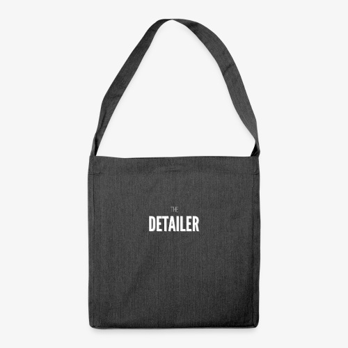 The Detailing Bag - Shoulder Bag made from recycled material