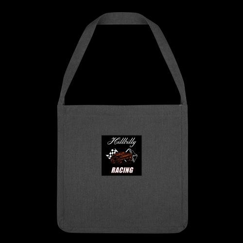 Hillbilly racing merchandise - Schoudertas van gerecycled materiaal