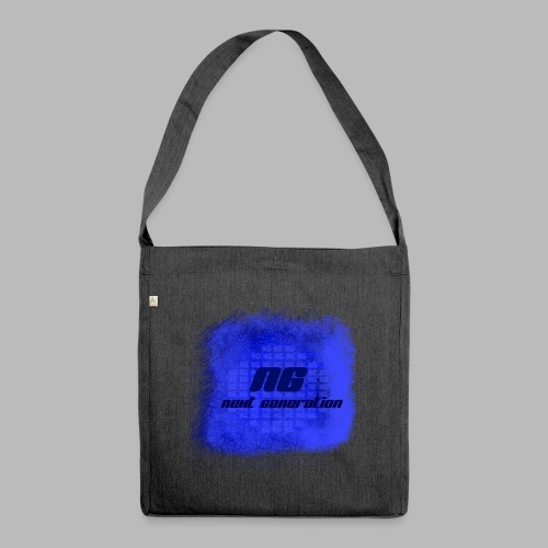 The blue bags - Shoulder Bag made from recycled material