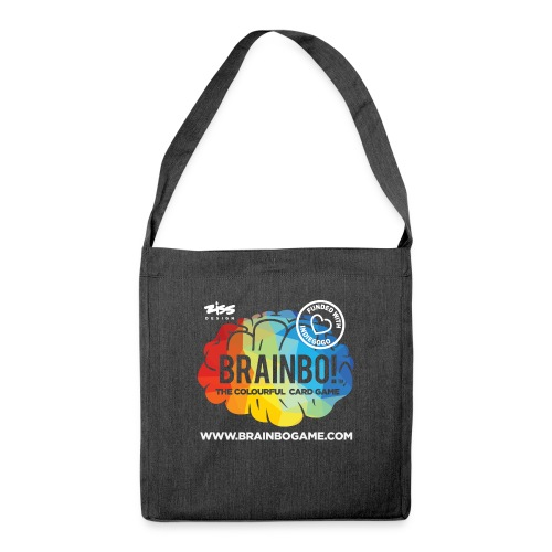 BRAINBO - Shoulder Bag made from recycled material