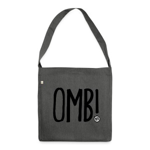 OMB LOGO - Shoulder Bag made from recycled material