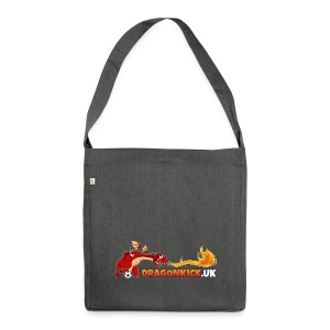 DRAGONKICK.UK - Shoulder Bag made from recycled material
