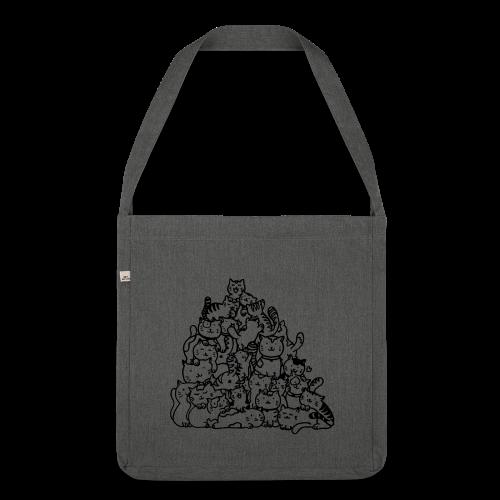 Meow! - Bandolera de material reciclado