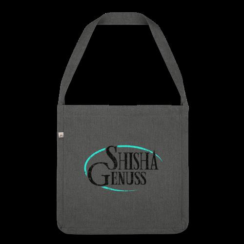 #SHISHA GENUSS - Schultertasche aus Recycling-Material
