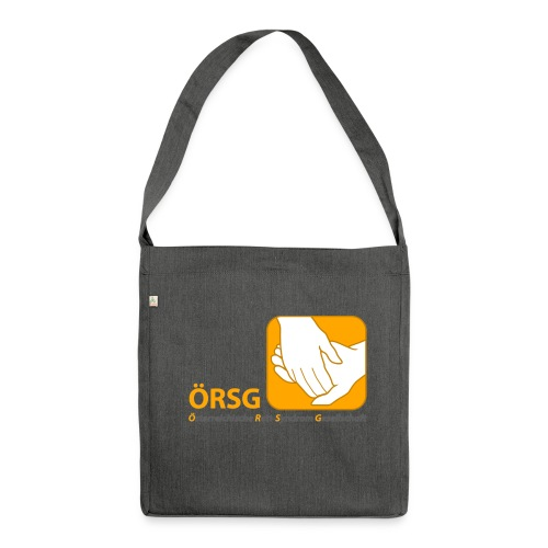 Logo der ÖRSG - Rett Syndrom Österreich - Schultertasche aus Recycling-Material