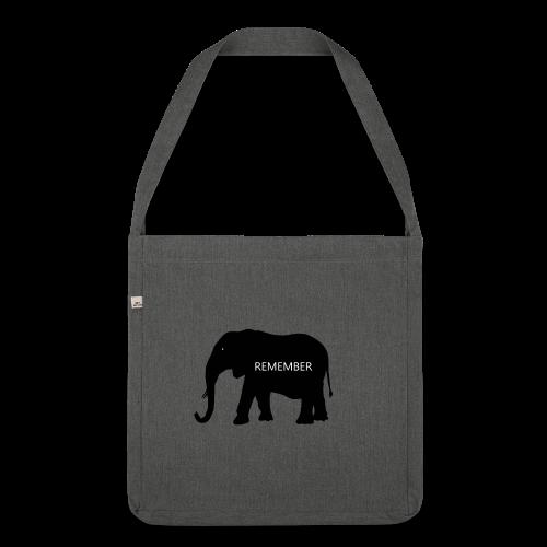 Elephant Collection - Skulderveske av resirkulert materiale