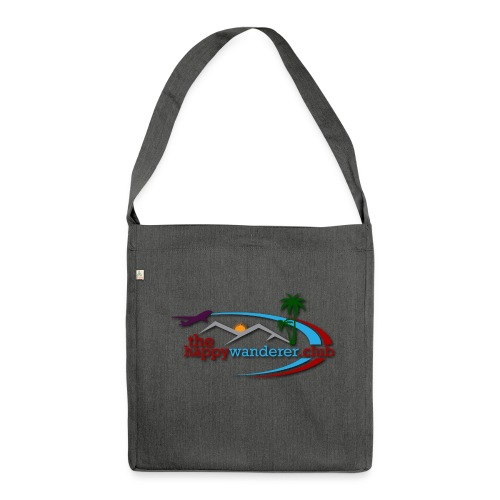 The Happy Wanderer Club - Shoulder Bag made from recycled material