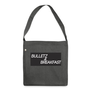 bulletz4breakfast_t-shirt - Shoulder Bag made from recycled material