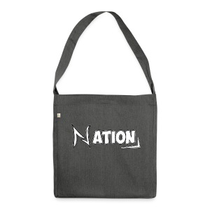Nation Logo Design - Shoulder Bag made from recycled material