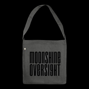 Moonshine Oversight noir - Sac bandoulière 100 % recyclé