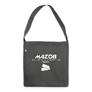Ill See You All In The Next Video Mazob Grey Stree - Shoulder Bag made from recycled material