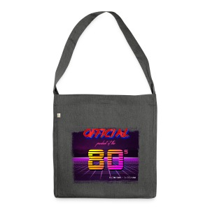 Official product of the 80's clothing - Shoulder Bag made from recycled material
