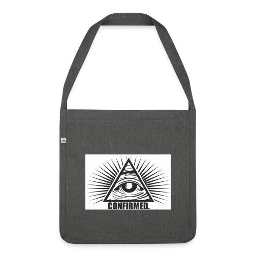 illuminati - Schultertasche aus Recycling-Material