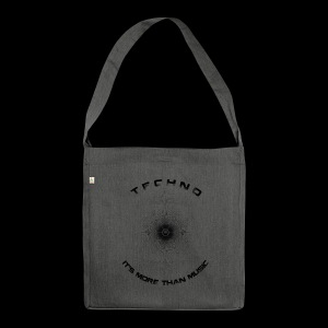 TECHNO - IT'S MORE THAN MUSIC - Schultertasche aus Recycling-Material