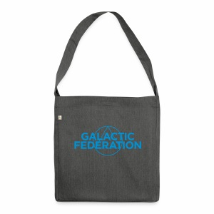 Galactic Federation - Shoulder Bag made from recycled material