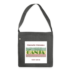 radio ganja - Shoulder Bag made from recycled material