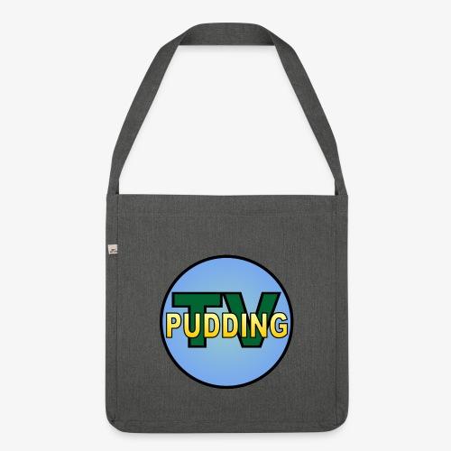 Pudding-TV Logo - Skulderveske av resirkulert materiale
