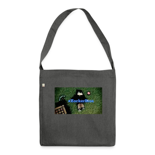 #Zockerbros t-shirt - Schultertasche aus Recycling-Material