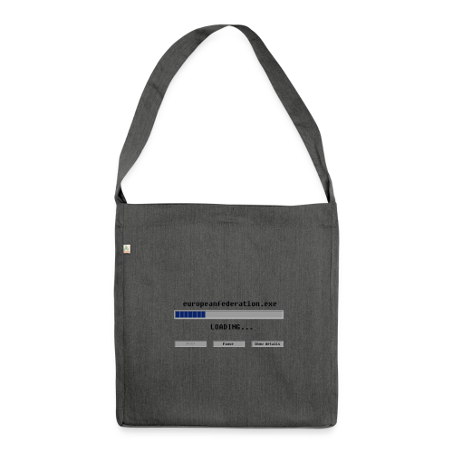 europeanfederation.exe - Shoulder Bag made from recycled material