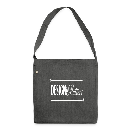Design&Matters - Shoulder Bag made from recycled material
