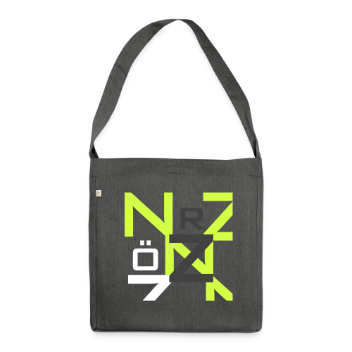Nörthstat Group™ Clear Transparent Main Logo - Shoulder Bag made from recycled material