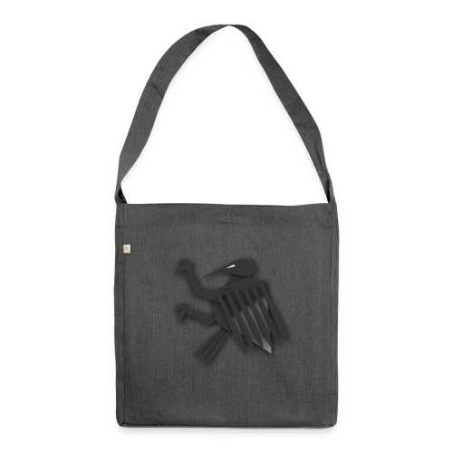 Nörthstat Group ™ Black Alaeagle - Shoulder Bag made from recycled material