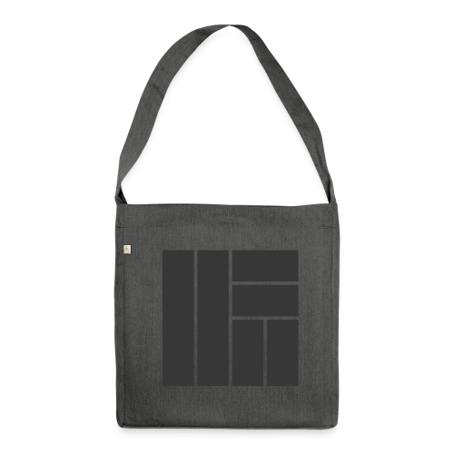 NÖRCup Black Iconic Edition - Shoulder Bag made from recycled material