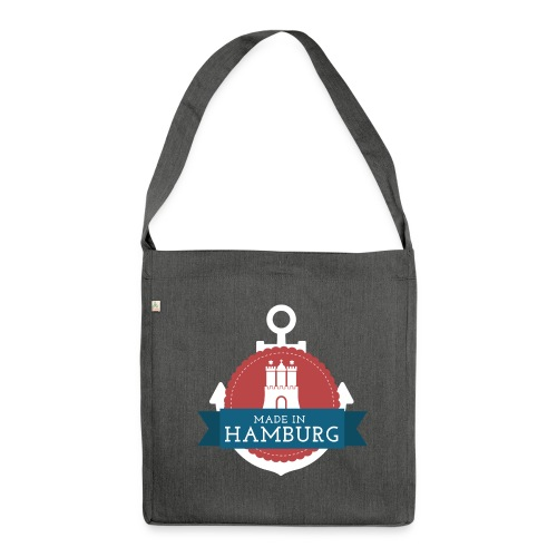 Made in Hamburg - invert - Schultertasche aus Recycling-Material