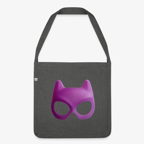 Bat Mask - Torba na ramię z materiału recyklingowego