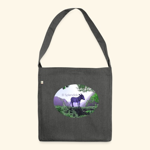 El Splendido Donkey - Schultertasche aus Recycling-Material