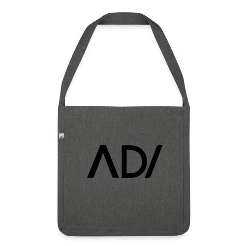 Anpassa AD / logo - Axelväska av återvinningsmaterial