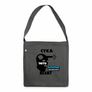 CYKA BLYAT T4IT0 - Schultertasche aus Recycling-Material