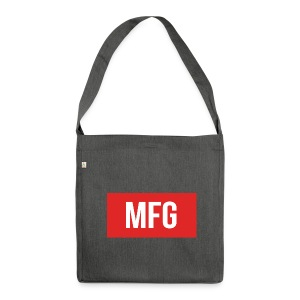 MFG on Youtube Logo - Shoulder Bag made from recycled material