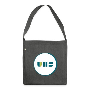 UHS Logo - Schultertasche aus Recycling-Material
