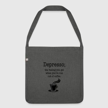 Depresso Kaffee - Schultertasche aus Recycling-Material