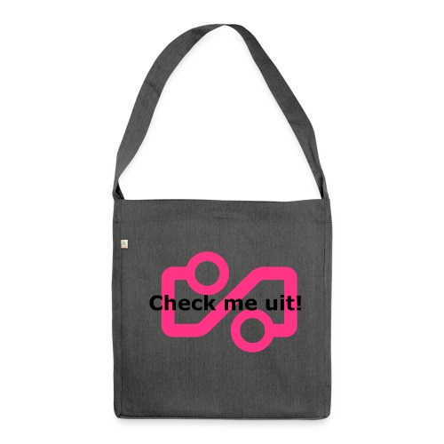 Check me Uit! - Shoulder Bag made from recycled material