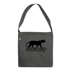 Camouflow Panther - Schultertasche aus Recycling-Material