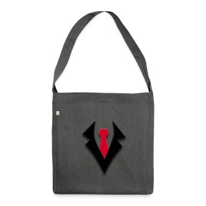 KevTube Logo - Schultertasche aus Recycling-Material