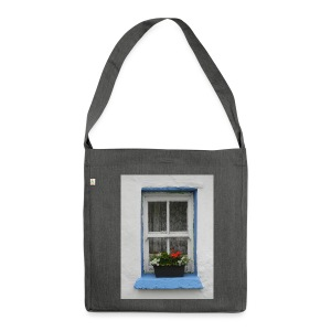 Cashed Cottage Window - Shoulder Bag made from recycled material