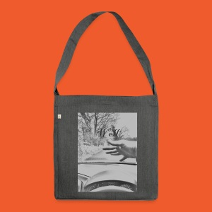 Well wave T-Shirt - Shoulder Bag made from recycled material