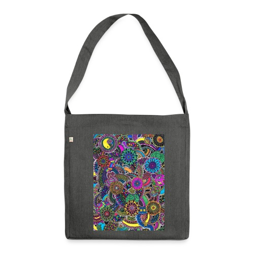 Color your life - Schultertasche aus Recycling-Material