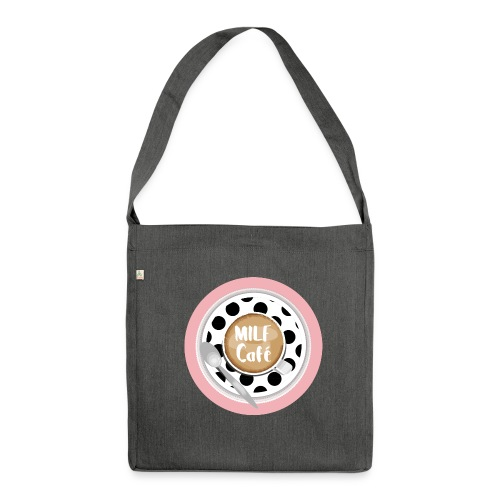 Milfcafé - MILF Logo Instagram Blogger Musthave - Schultertasche aus Recycling-Material