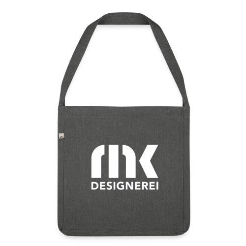 MK-Designerei (Logo) - Schultertasche aus Recycling-Material