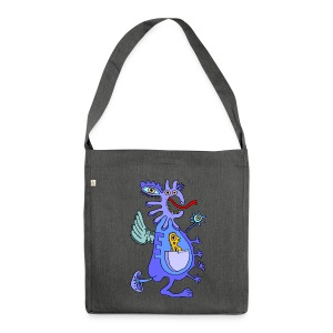 Blue Dragon - Borsa in materiale riciclato